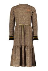 NONO NoNo Mirthy Maxi Leopard Jersey Dress Animal
