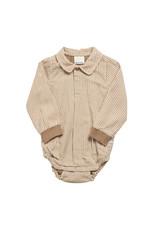 Enfant En Fant Body Shirt Longsleeve Nebs Tobacco Brown