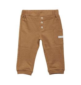 Enfant En Fant Pants Structure Tobacco Brown