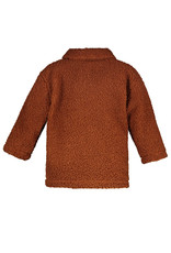 The New Chapter The New Chapter Teddy Jacket with Pockets Tawny Brown
