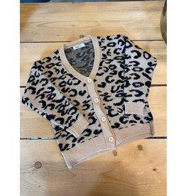 Kiezel Kiezel Cardigan leopard