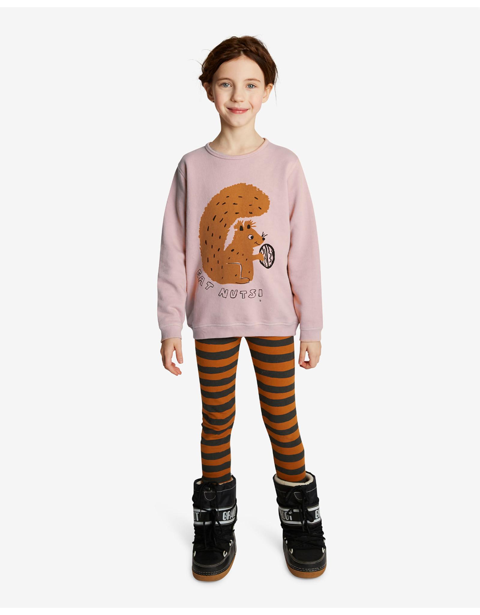 Nadadelazos Nadadelazos Sweatshirt Squirrel & Nuts Dark Pink