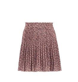 Like Flo Like Flo Girls Woven Crepe Plisse Skirt Old Pink