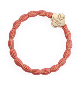 By Eloise By Eloise Metallic Gold Quatrefoil Coral Pink