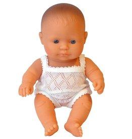 Miniland Miniland Babypop Europese Jongen 21cm