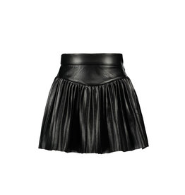 B.Nosy B.Nosy Girls Metallic Plissé Skirt Black