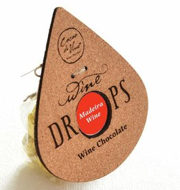 Cacao DiVine Wine drops with Madeira filling