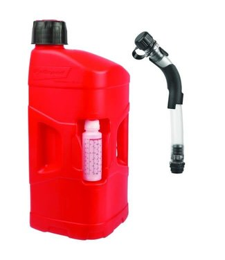 Polisport ProOctane Can 20L with cap + Fill Hose with Bender