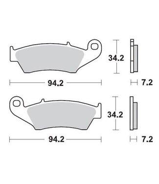 motomaster MMT Brake Pad Front YZ+F98-07 CR+F95-.. KX+F94-.. RM+Z Race