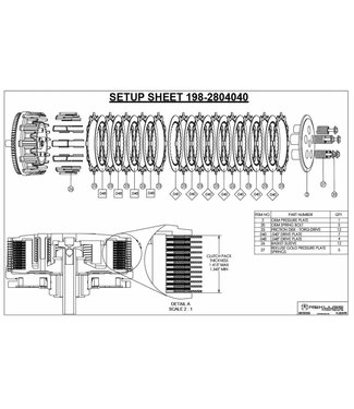 Rekluse REPL. OEM TORQDRIVE CLUTCH, CABLE CONTROLLED KAWASAKI KX-F 250F 2009-