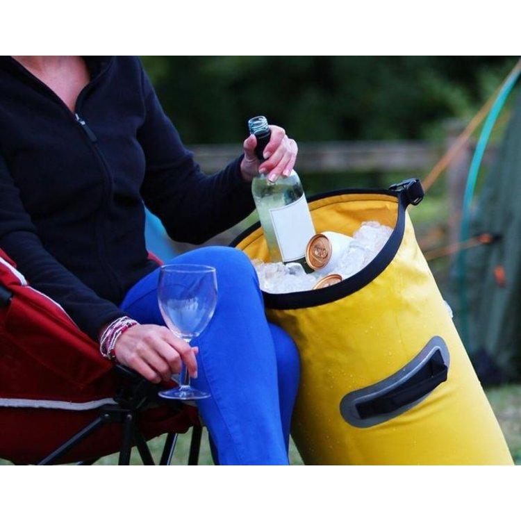 Overboard Overboard Dry Ice Cooler bag 30L Geel