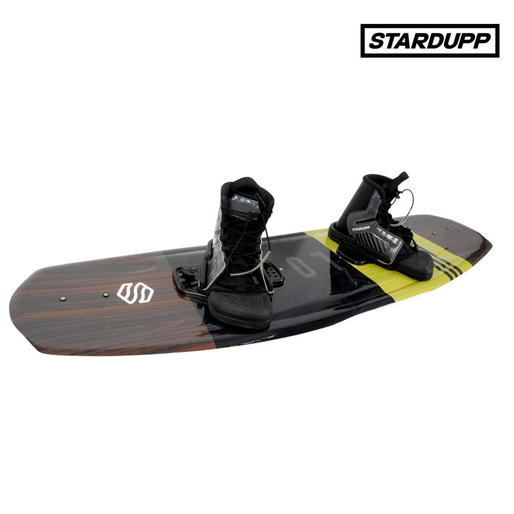 Stardupp Stardupp Reload wakeboard set yellow 139cm