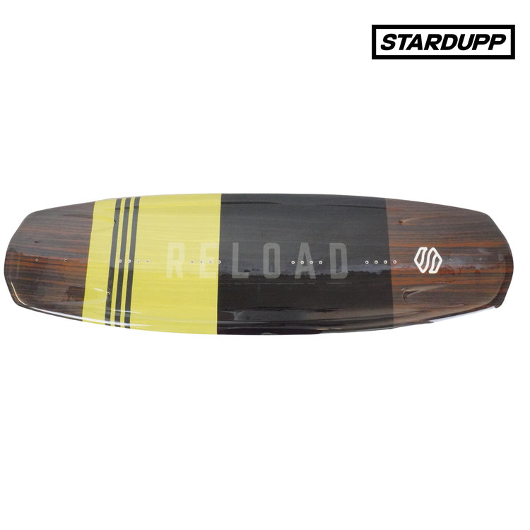 Stardupp Stardupp Reload wakeboard set Youth yellow 139cm
