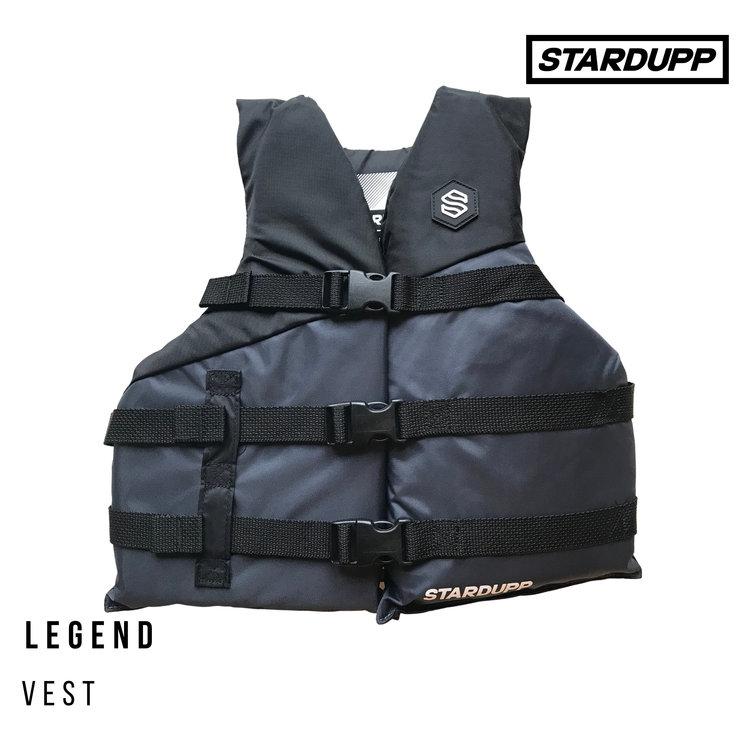 Stardupp Stardupp Legend Vest Youth Black