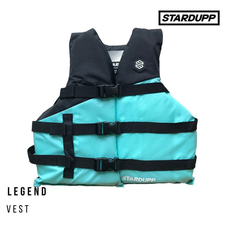 Stardupp Stardupp Legend Vest Youth Aqua