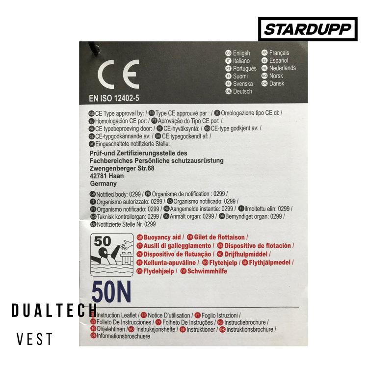 Stardupp Stardupp Dualtech Vest Wit
