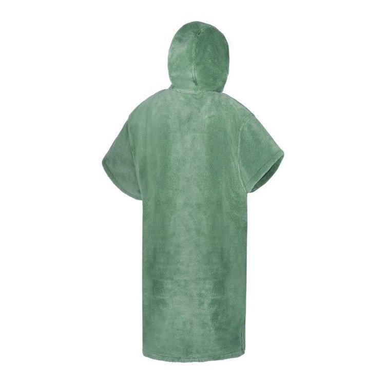 Mystic Mystic Poncho Teddy  Sea Salt Green