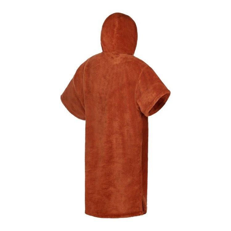 Mystic Mystic Poncho Teddy  Rusty Red