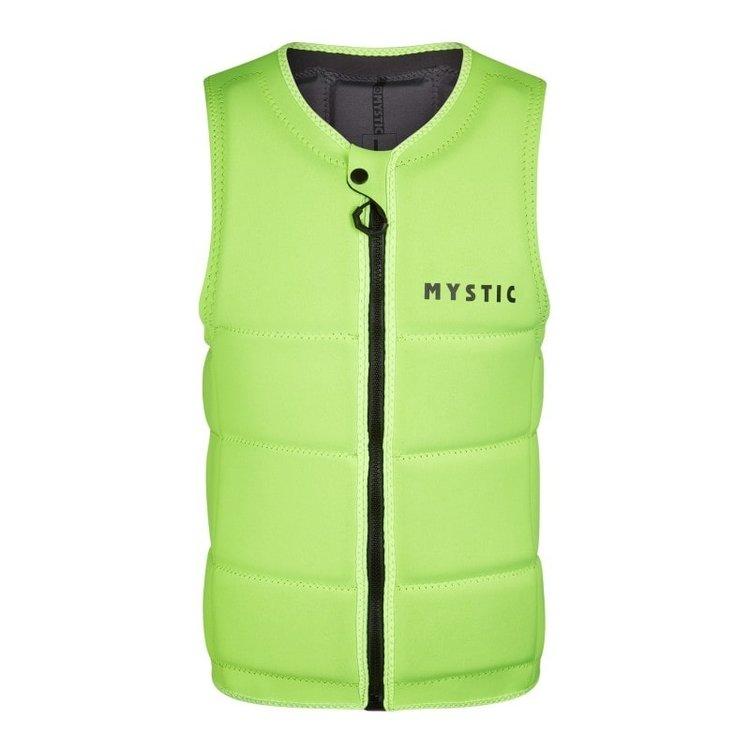 Mystic Mystic Brand Impact Vest Fzip Wake CE Flash Yellow