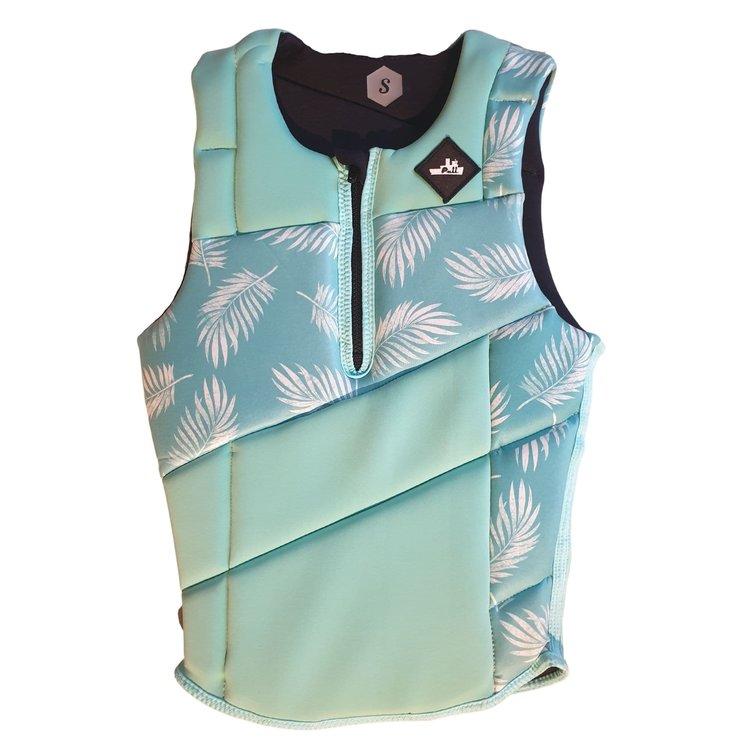 Pull Pull Scallywag Mint Green Quarter Zip impact vest