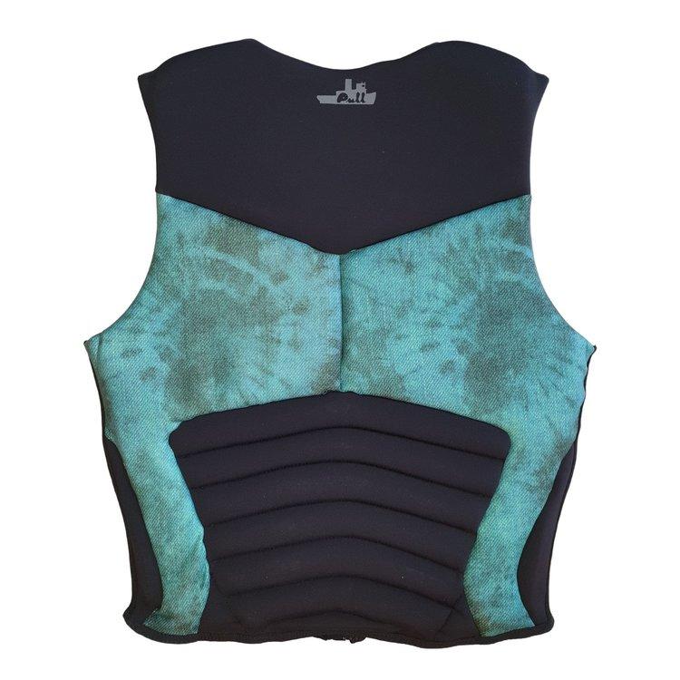 Pull Pull Pillage Green Acid Wash Impact Vest