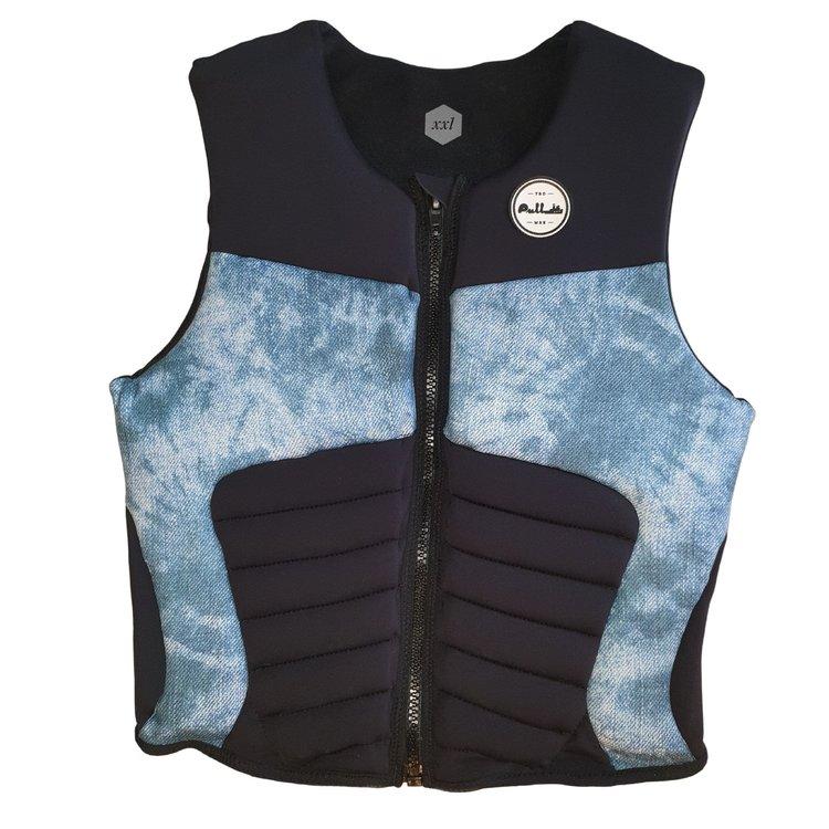 Pull Pull Pillage Blue Acid Wash Impact Vest