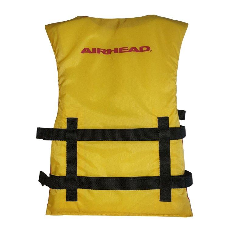Airhead Airhead General purpose Jeugd zwemvest geel/rood
