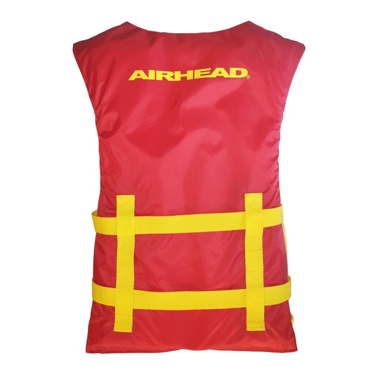 Airhead Airhead General purpose kinder zwemvest rood/geel