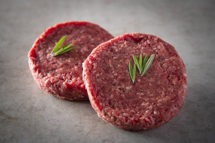 De Laet & Van Haver Hamburger gemaakt van 100% sappig en smakelijk rundsvlees.