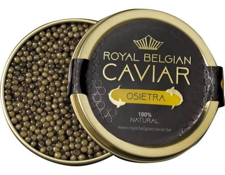 Verbiest Royal Belgian Caviar '' osietra''