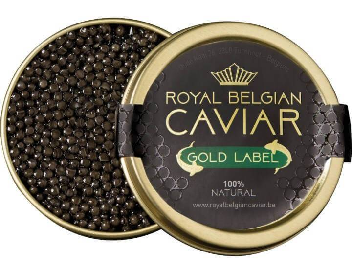 "Royal Belgian Caviar  Royal Belgian Caviar ""GOLD"""