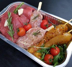 BBQ  Pakket Vlees