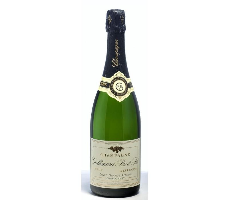"Vinifera Gallimard  ""Grande Réserve Chardonnay"" Brut 75cl"