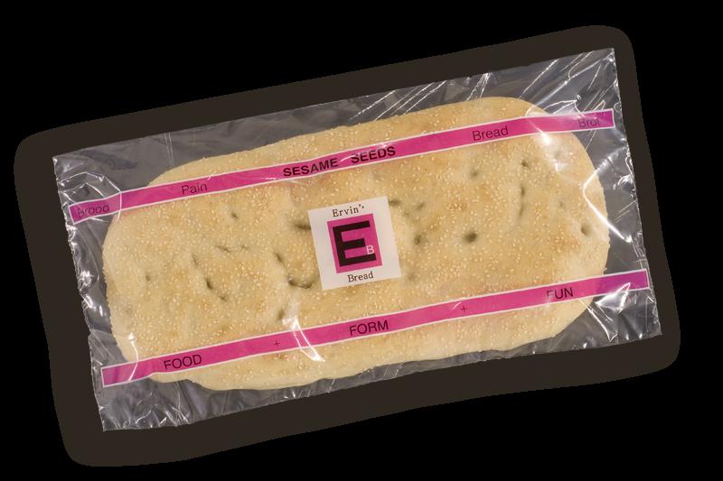 Ervin's Bread Sesamzaadbrood