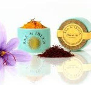 Fleur de sel met saffraan