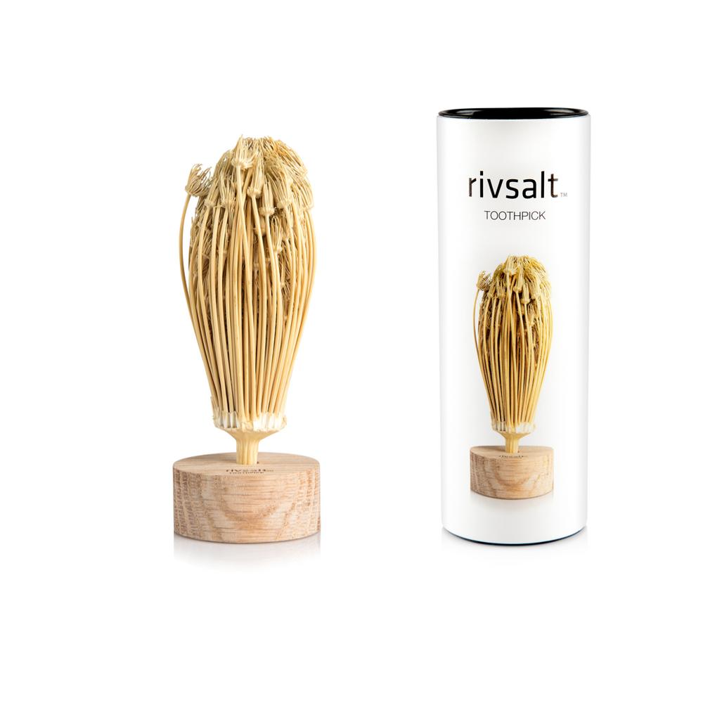 Rivsalt  Refill natuurlijke tandenstoker 30g