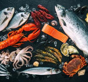 Vis, Schaal- en -Schelpdieren