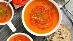 Paprika soep - 1 Liter