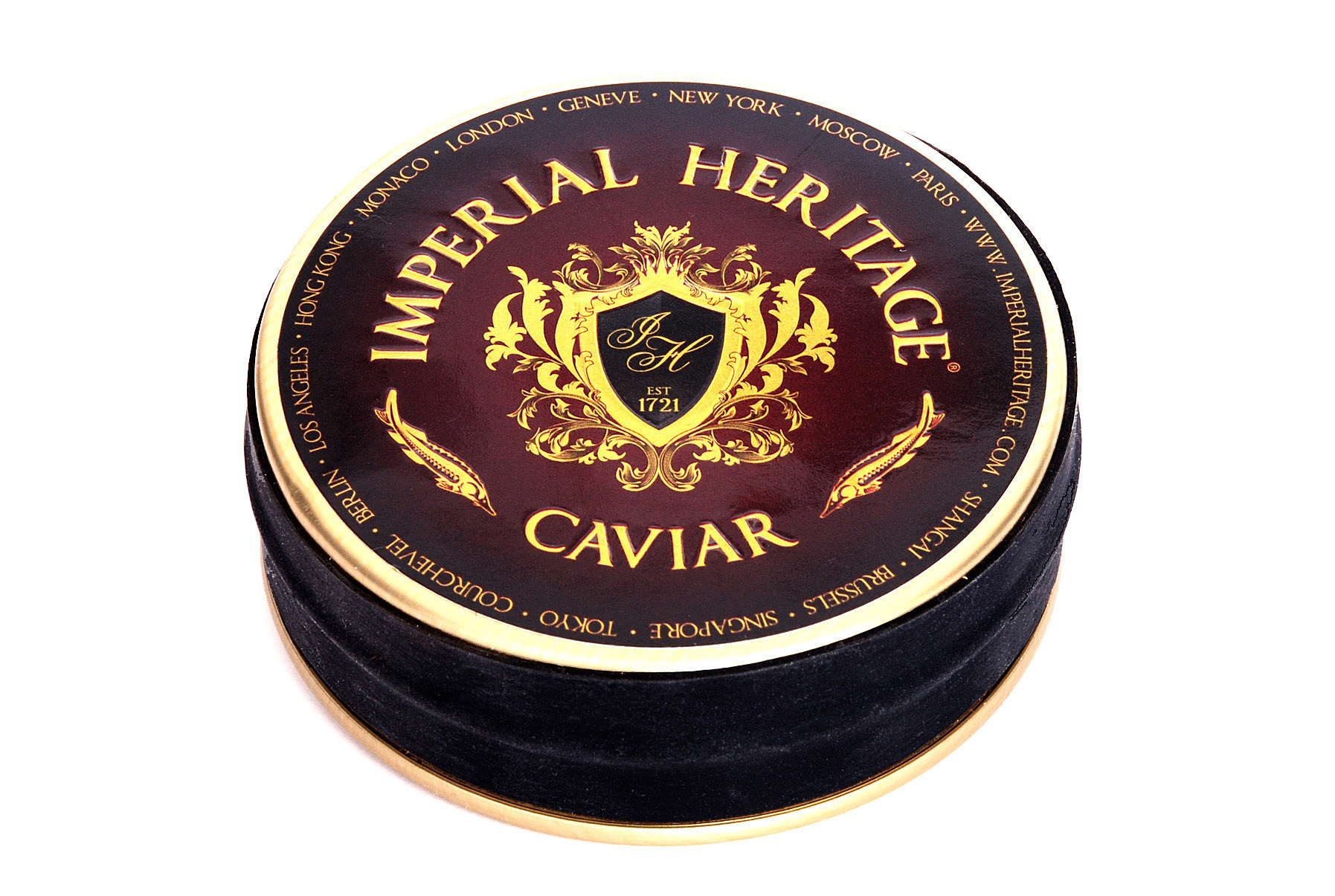 Imperial Heritage Caviar Connoisseurs  (Rood label)