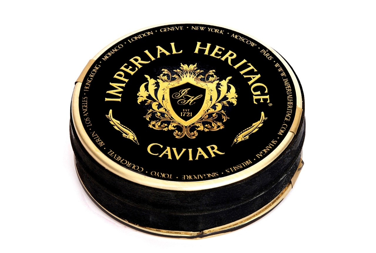 Imperial Heritage Caviar Russian Tradition  (Zwart label)