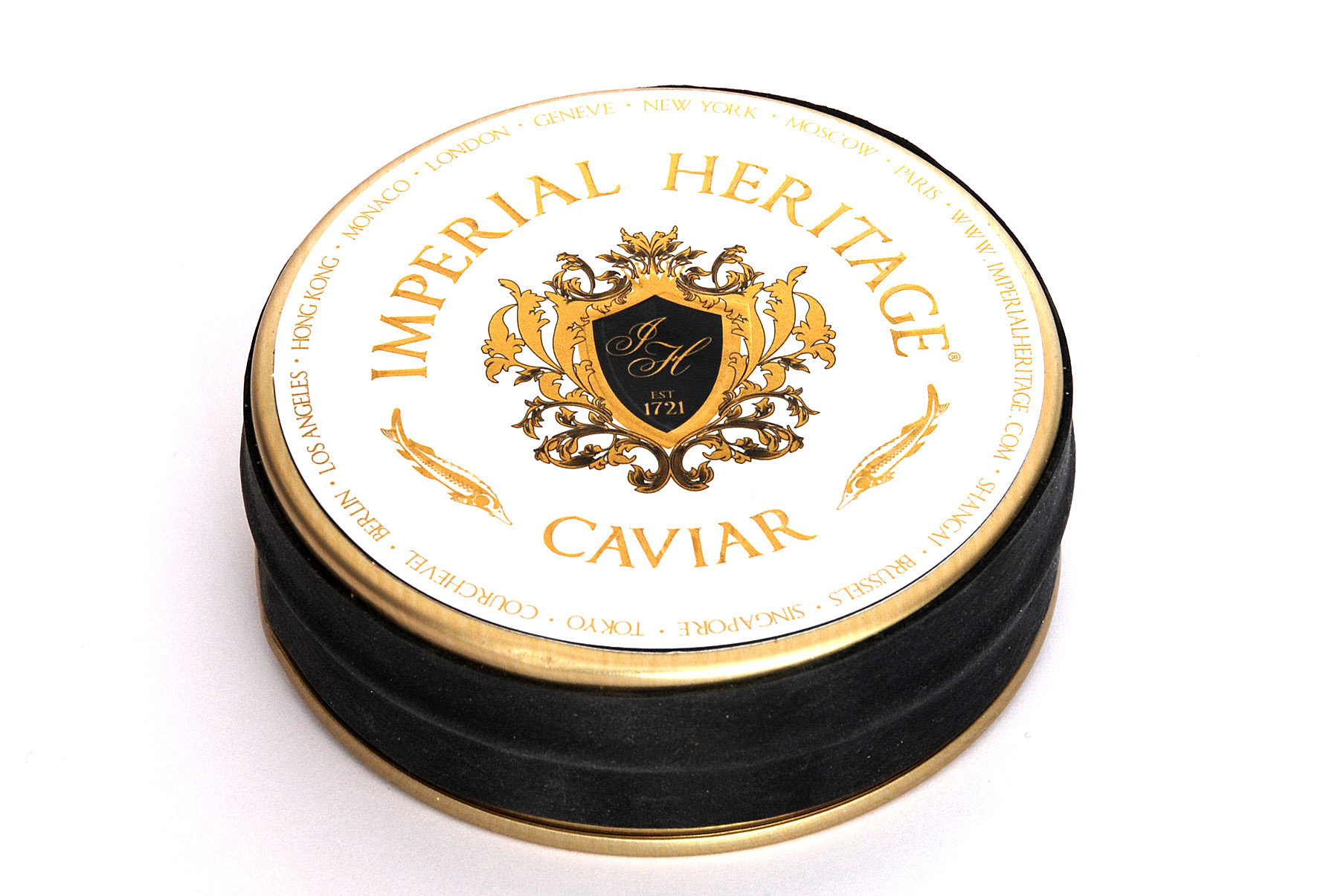"Imperial Heritage Caviar Oscietra  ""  Royal  "" (Wit label)"
