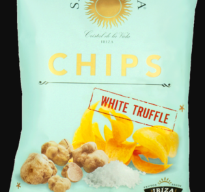 Fleur de Sel Chips met witte truffel