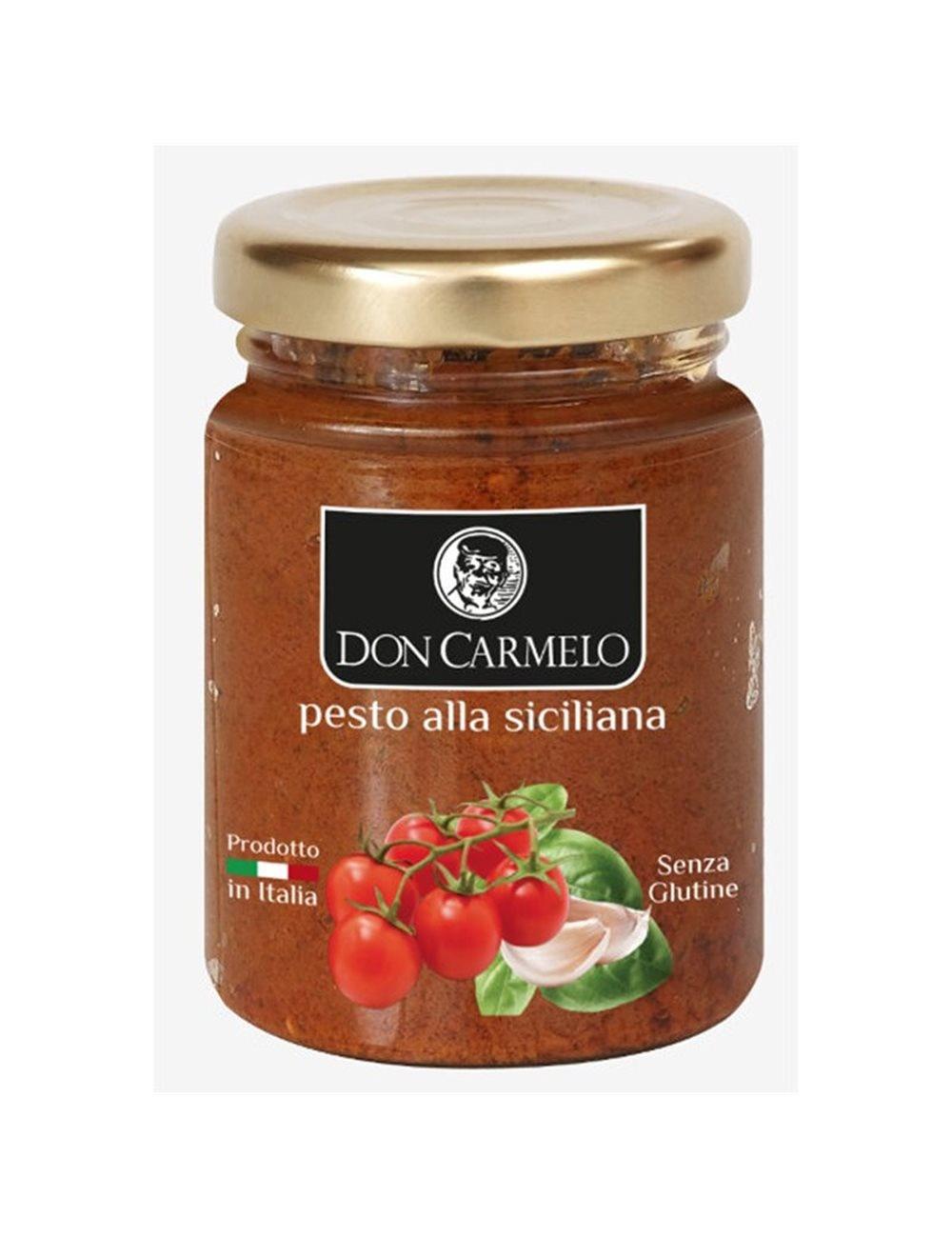 Don Carmelo Pesto alla Siciliana 100gr