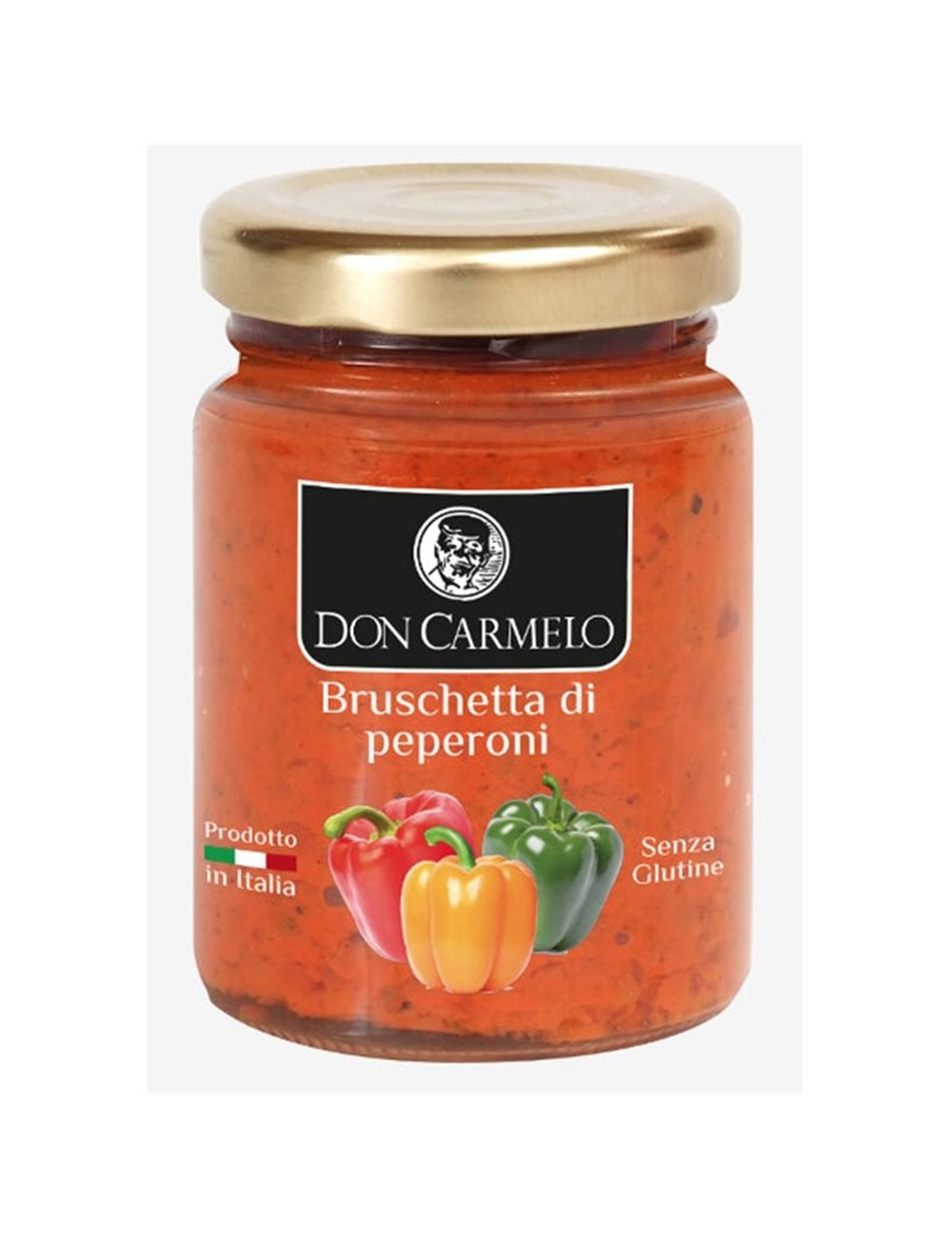 Don Carmelo Bruschetta di Peperoni 100gr