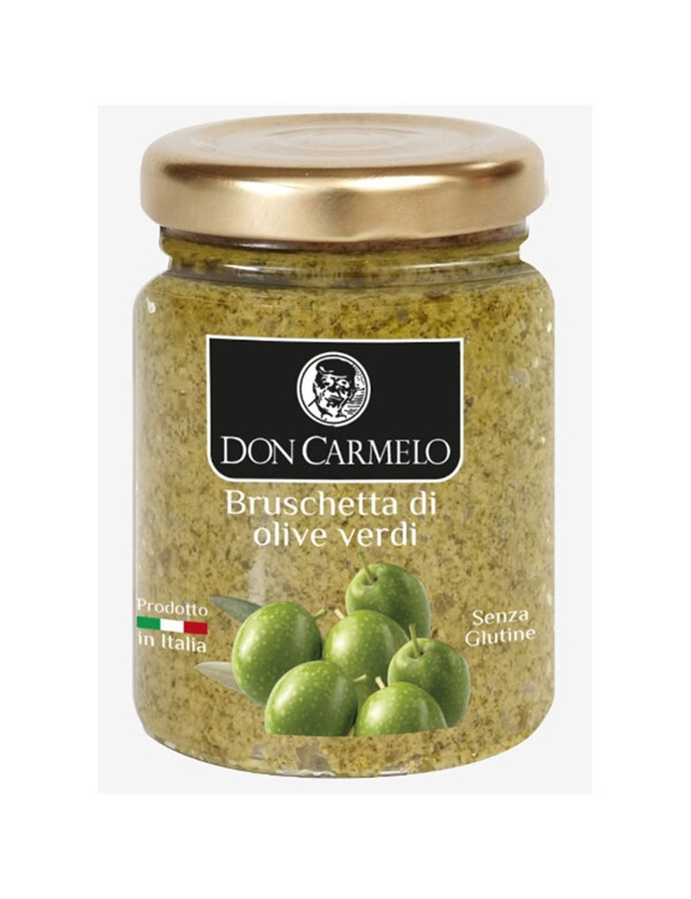 Don Carmelo Bruschetta di Olive Verdi 100gr
