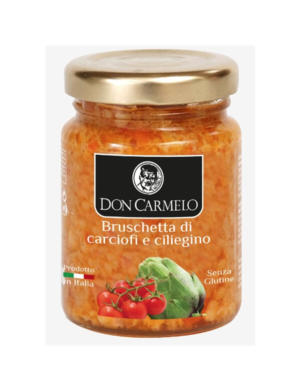 Don Carmelo Bruschetta di Carciofi e ciliegino 100gr