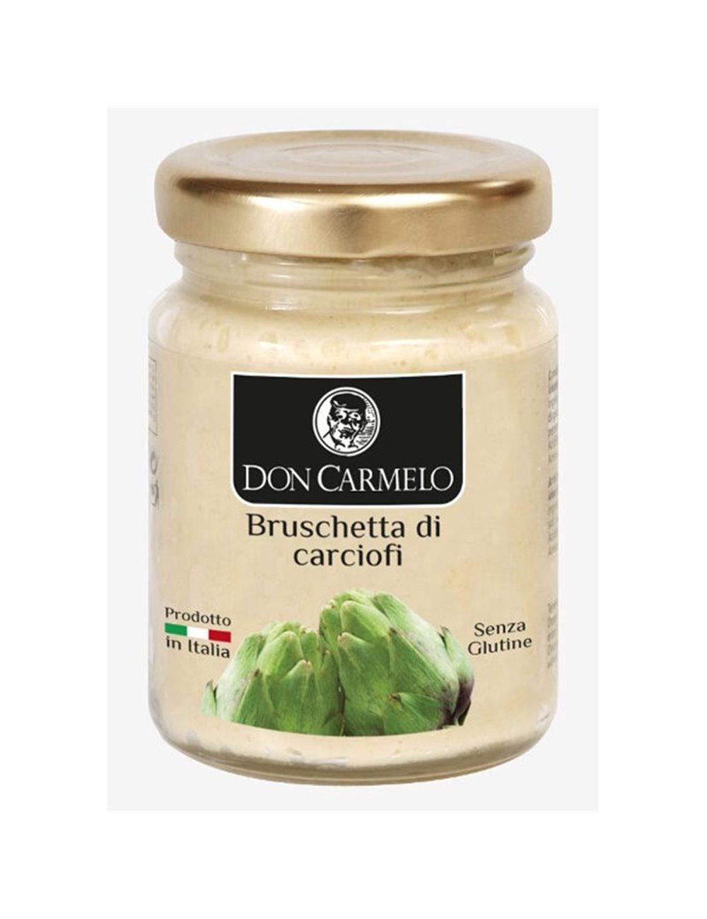 Don Carmelo Bruschetta di Carciofi 100gr