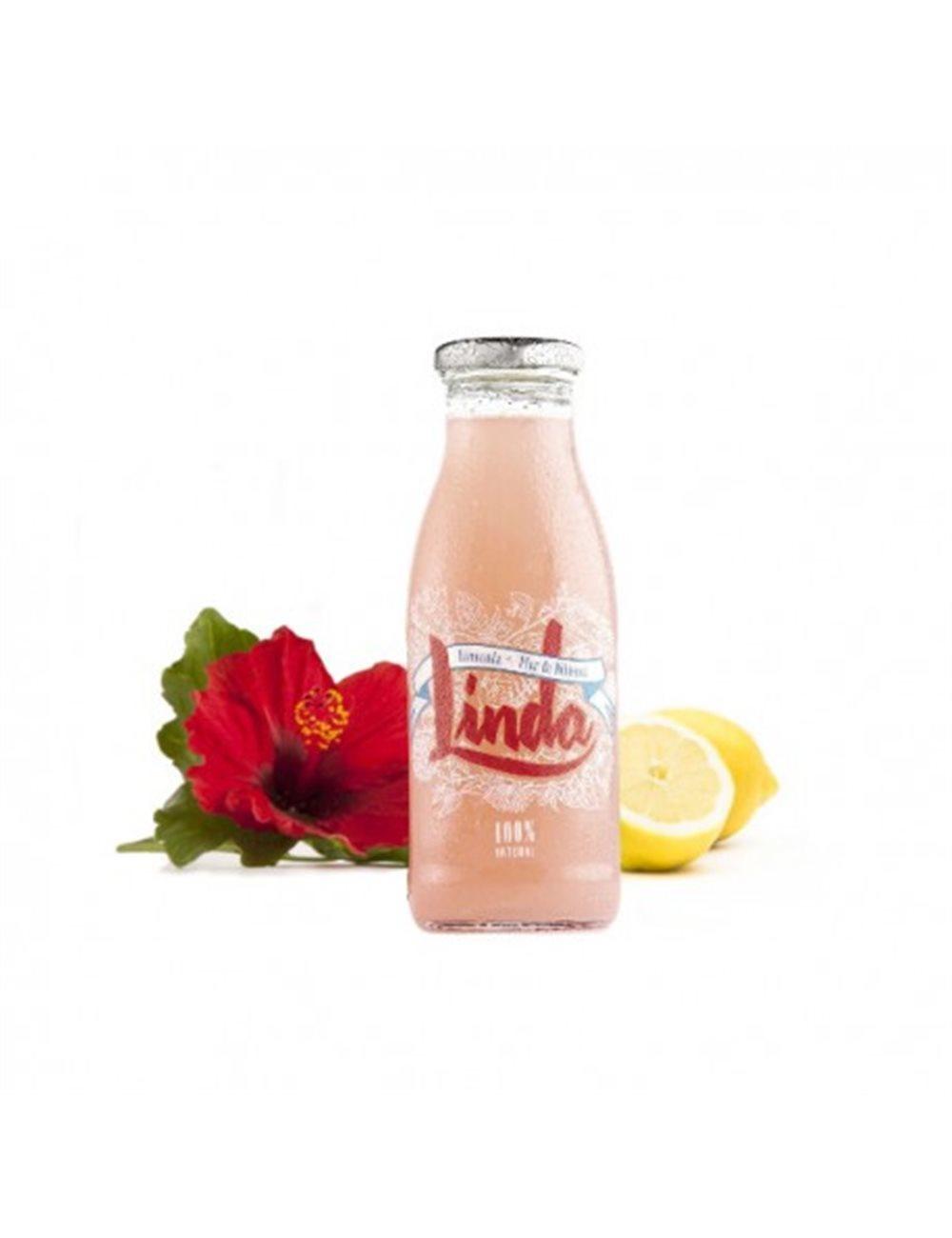 Linda Roze Limonade en Hibiscus  250ml