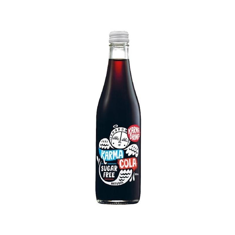 Karma Cola Karma Cola Suikervrij Fairtrade 300ml