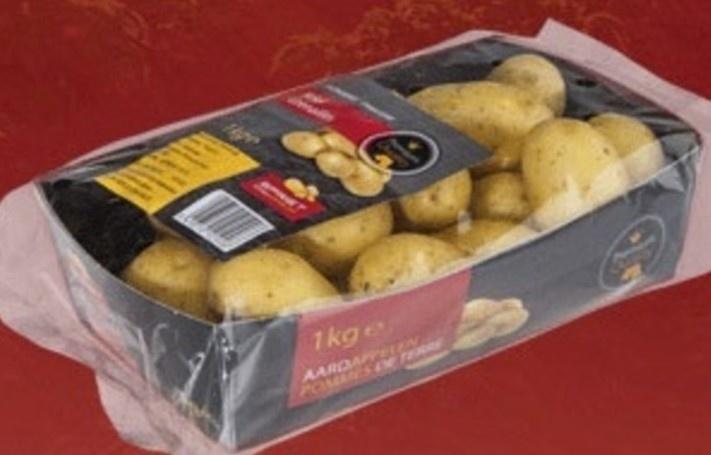 Spriet aardappel kriel ongeschild